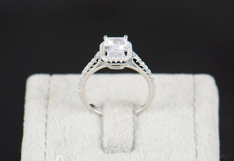 rings pear man size wedding solitaire diamond made i white ring engagement gold ct