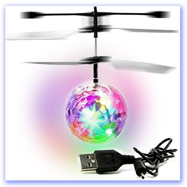 Flying Disco Ball  With Hand Induction Control