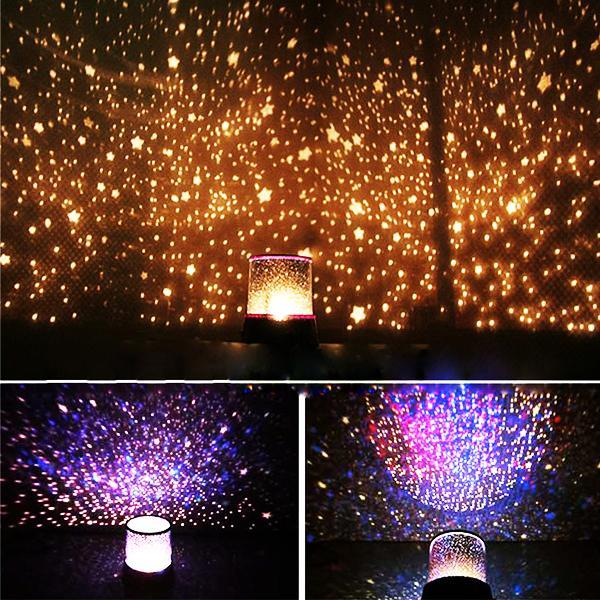 Star & Universe Galactic Projector Lamp