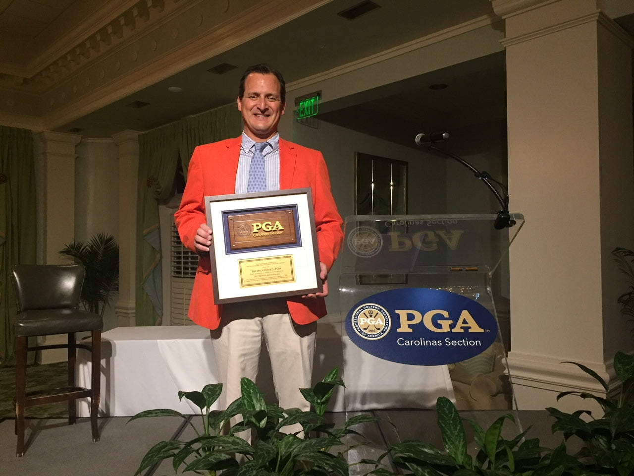 Horton Smith Award Recipient for the Carolinas PGA