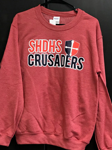 Gildan Heavy Blend SHDHS Crusaders Sweatshirt