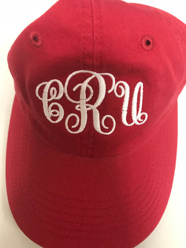 CRU Red Ladies' Cap