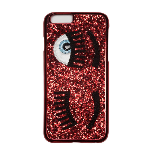 Chiara Ferragni 'Flirting' iPhone Case - Red