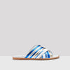 Miista Deb Blue Rattan Sandals