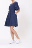 Chloe Dress- Navy