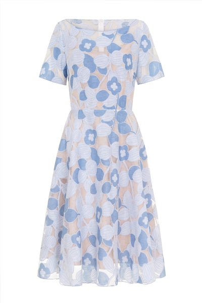 Emma Dress- Blue