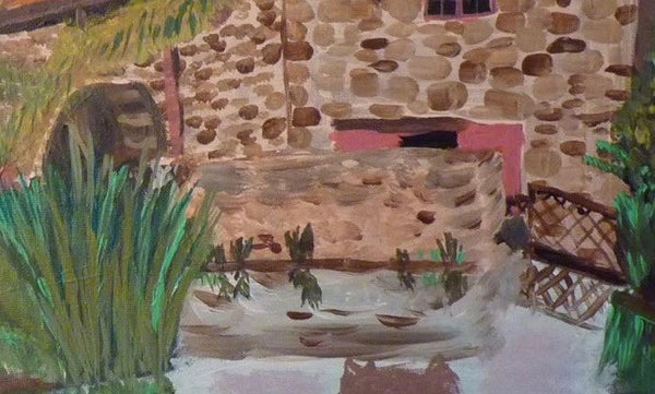 Path Head Water Mill, Blaydon, original artwork