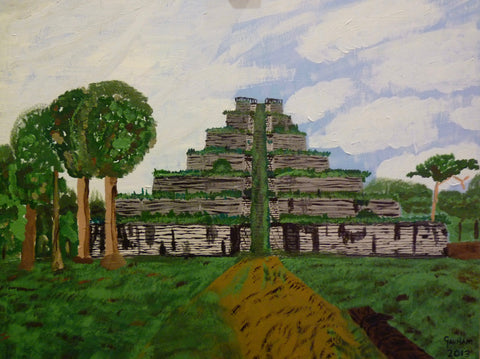 Koh Ker, original artwork
