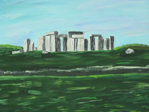 Stone Henge, original artwork