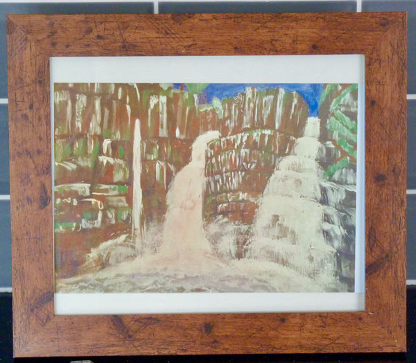 Limited Edition Aluminium Print - High Force Waterfall