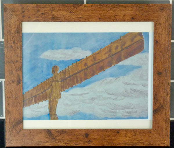 Limited Edition Aluminium Print - Angel of the North