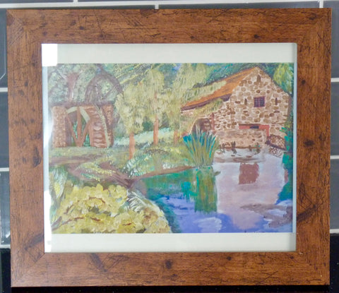 Limited Edition Aluminium Print - Path Head Watermill