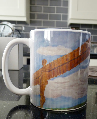 Ceramic Printed Mug - Angel of the North