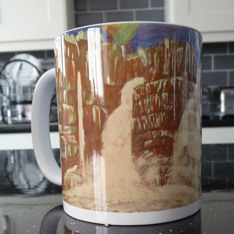 Ceramic Printed Mug - High Force Waterfall
