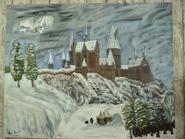 Hogwarts, original artwork