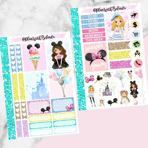 Disney Life Sticker Kit