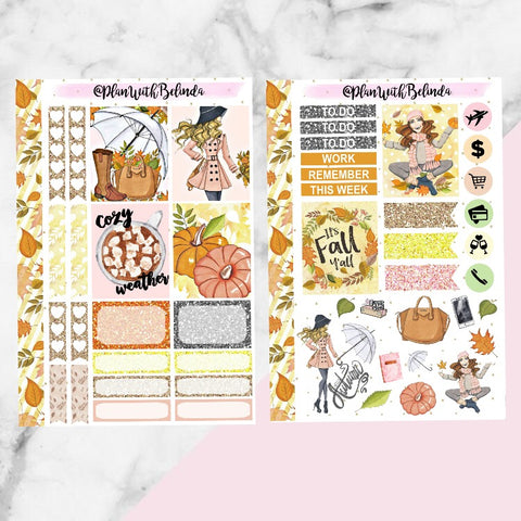 Cozy Sweater Sticker Kit