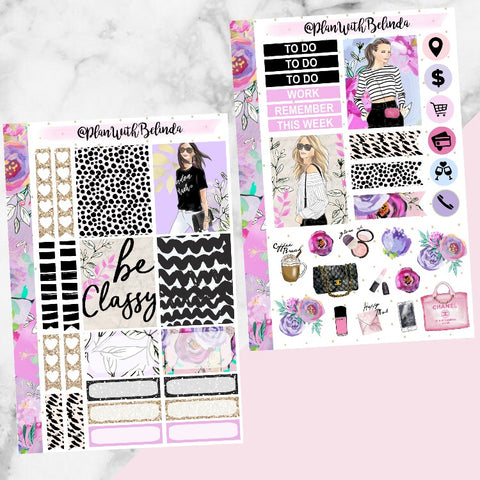 Classy and Sassy Sticker Kit