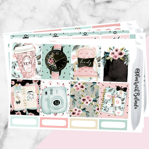 BeauTEA Time Sticker Kit