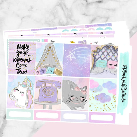 Glitter Dreams Sticker Kit