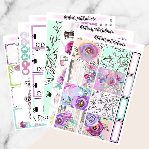 Blooming Dreams Sticker Kit