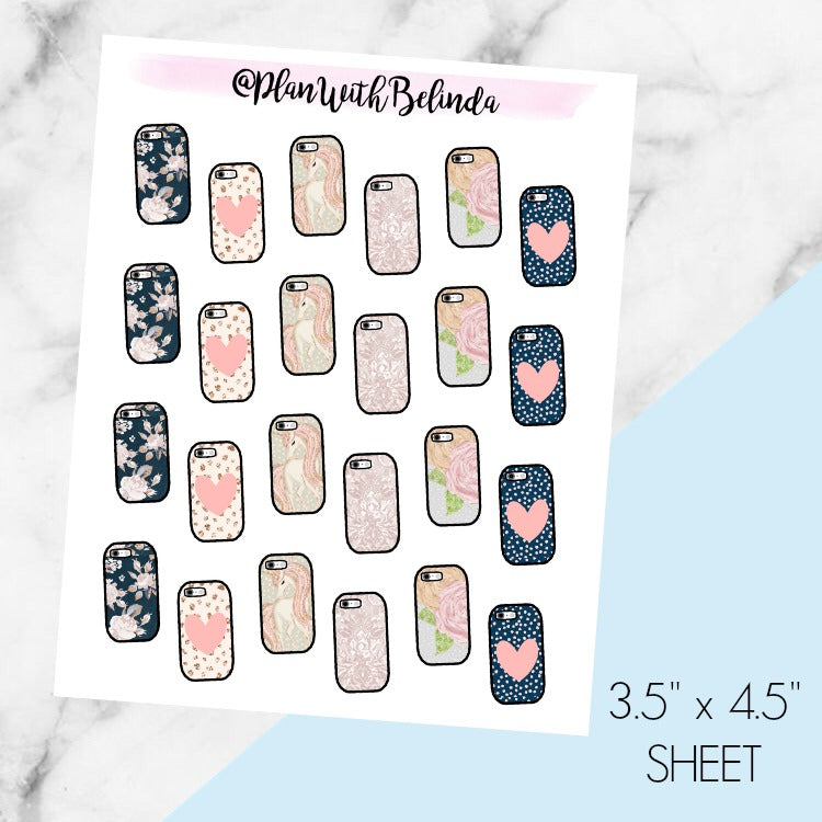 Cell Phone Pixie Dust Pattern - MATTE
