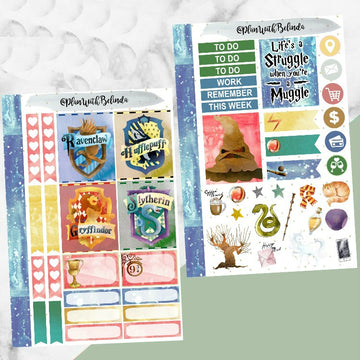 House Magic - 2 Sheet Sticker Kit