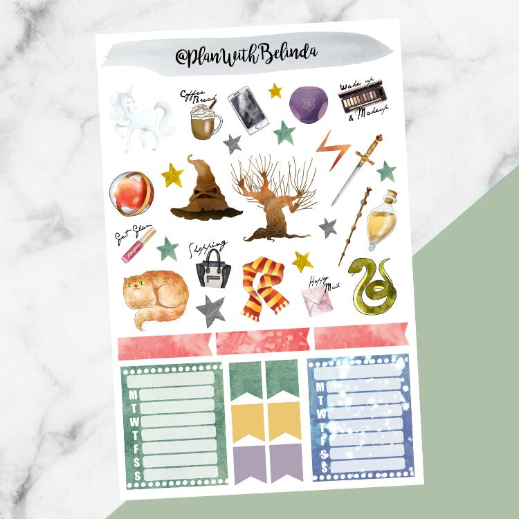 House Magic - Sticker Kit