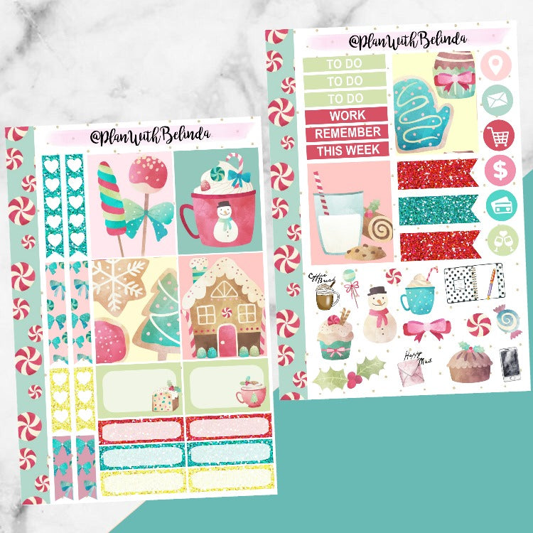 Candy Land Sticker Kit