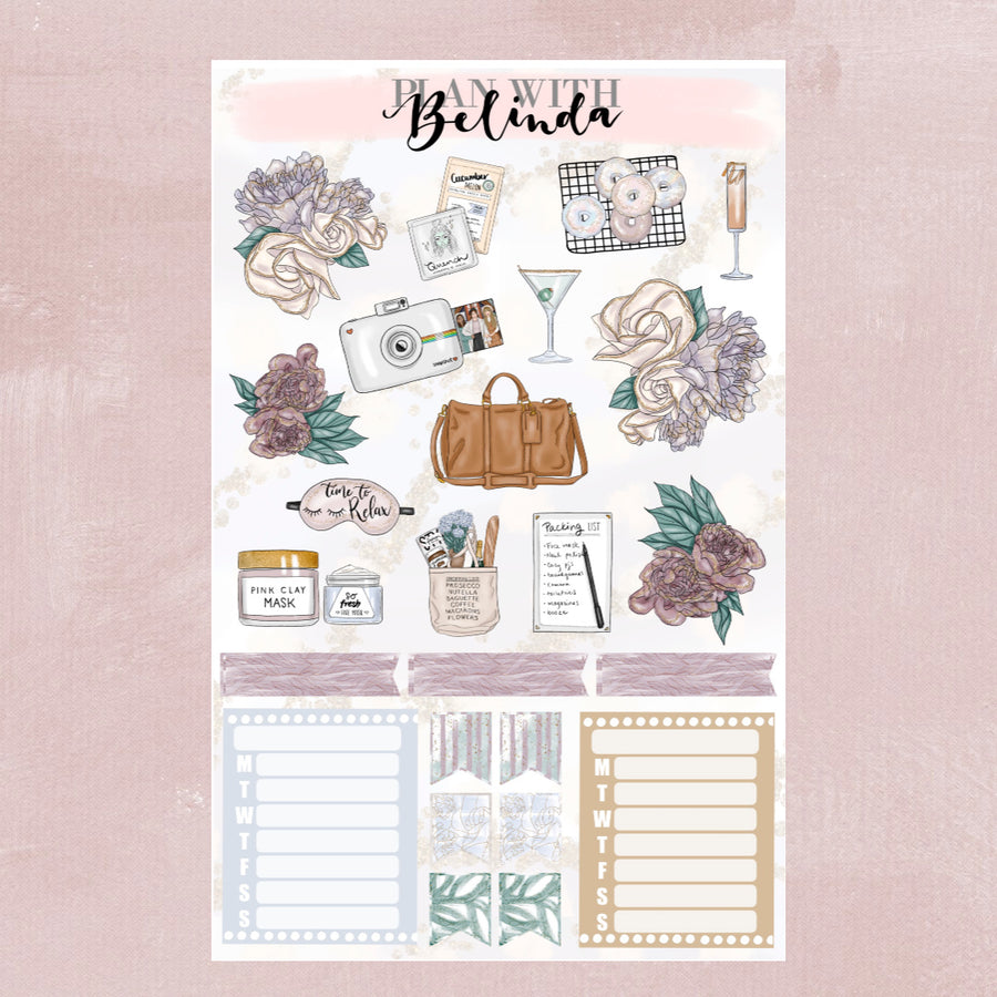 GIRLS NIGHT IN - STICKER KIT