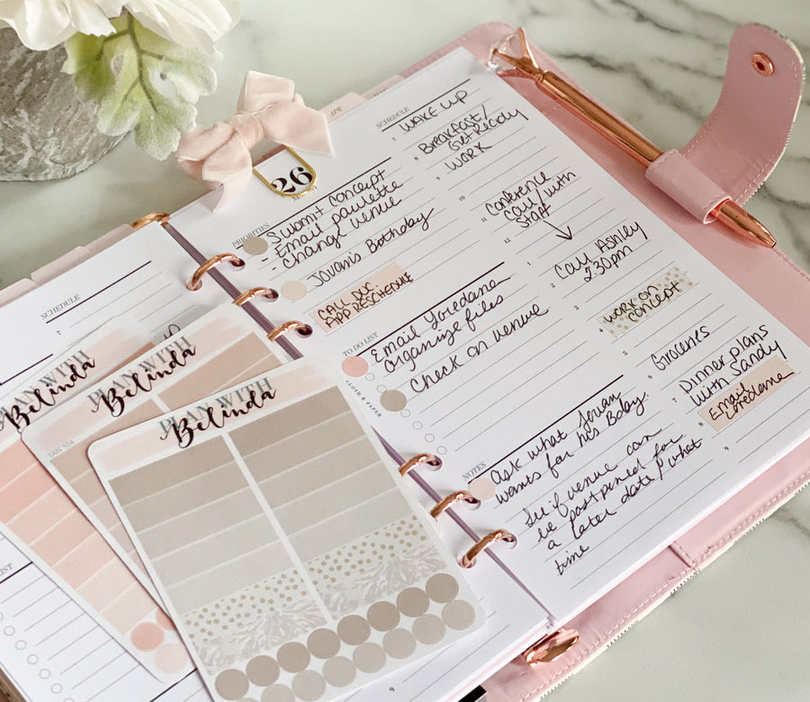 NEUTRAL WASHI STRIPS - MINI SHEETS