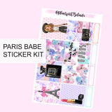 Paris Babe Sticker Kit - MATTE