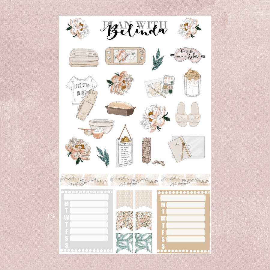 STAYING HOME - STICKER KIT BUNDLE
