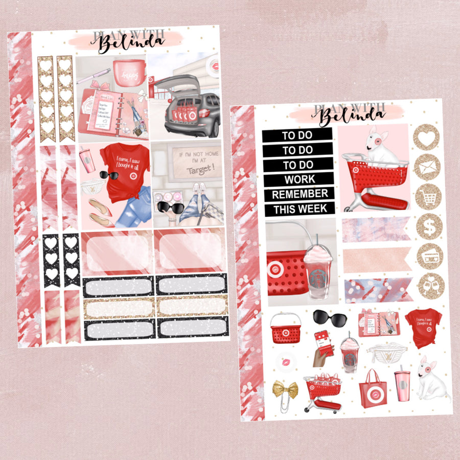 Tar-jay - 2 SHEET STICKER KIT BUNDLE
