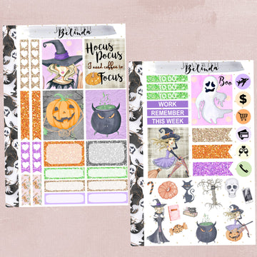 Hocus Pocus Sticker Kit