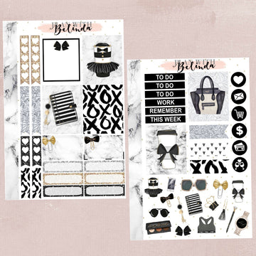 LATTE CHIC - STICKER KIT
