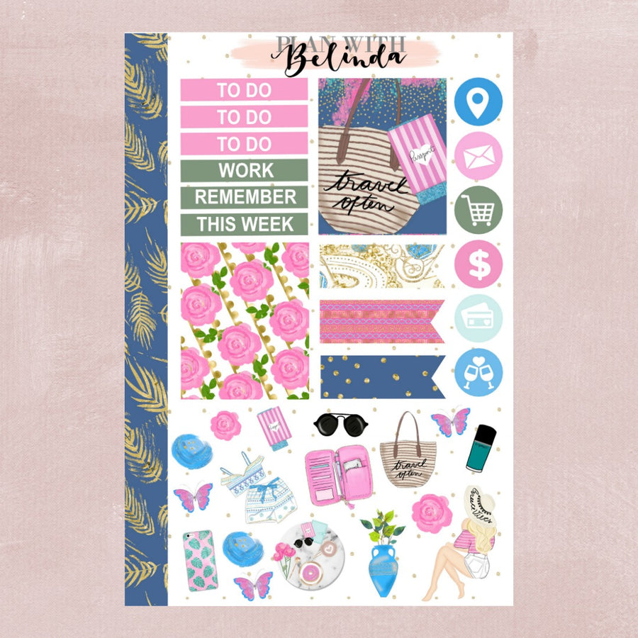 GREECE VIBES - STICKER KIT
