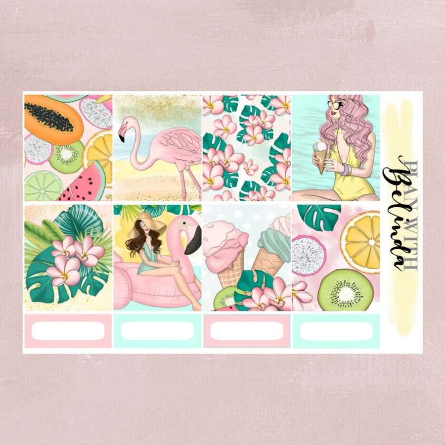 POOL PARTY - STICKER KIT