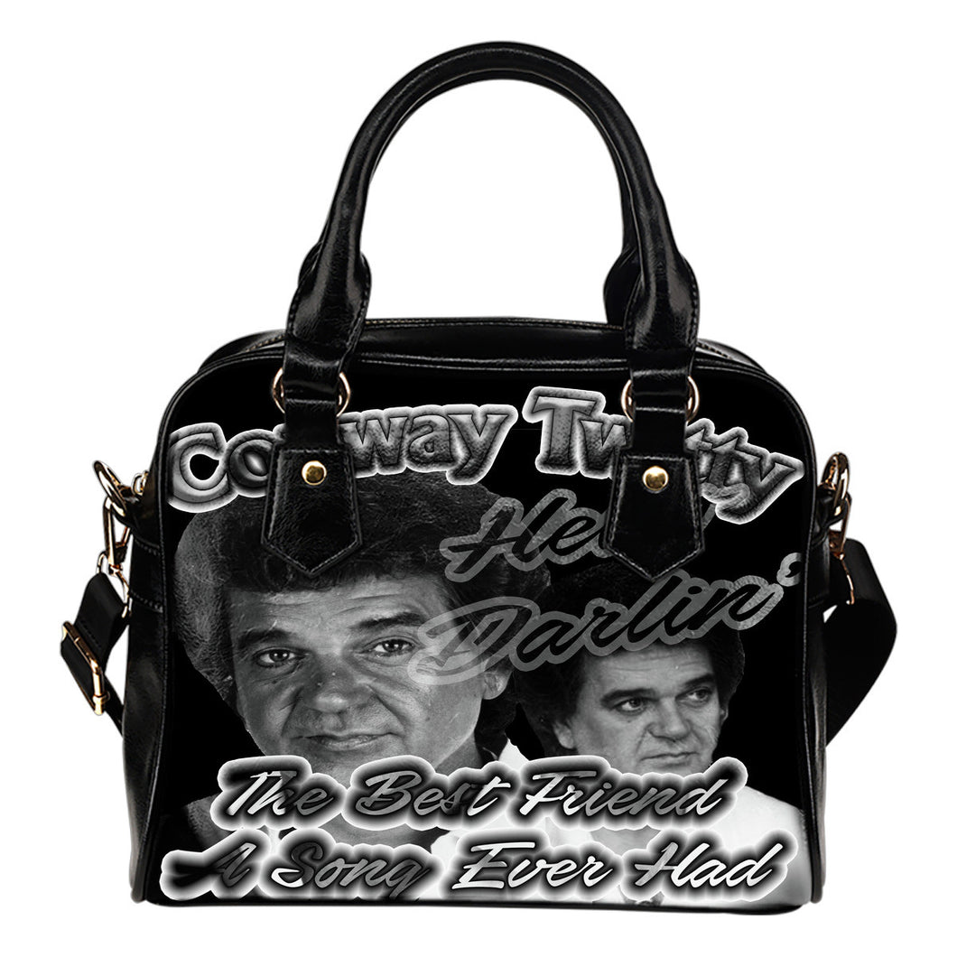Conway Twitty Hello Darlin' Handbag