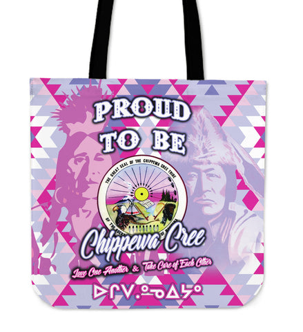 Proud To Be Chippewa Cree Tote