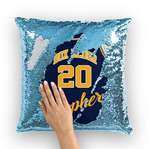 boxelderjersey Sequin Cushion Cover