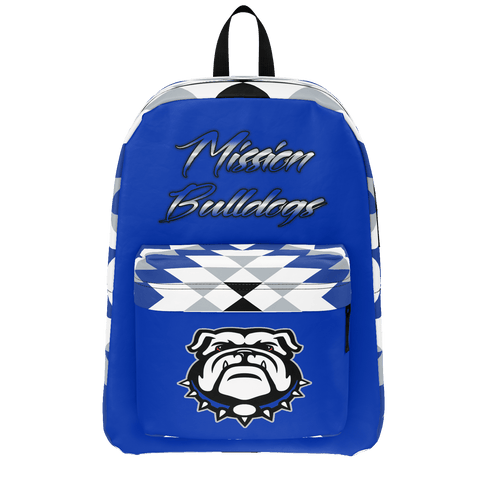 Mission Bulldogs Backpack