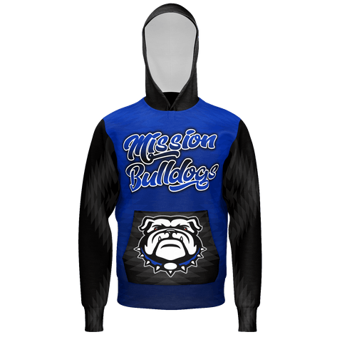 Mission Bulldogs Hooded Sweater 2