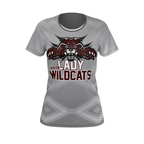 Harlem Lady Wildcats Ladies Tee
