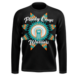 Plenty Coups Warriors Black Long Sleeve Tee