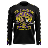 St. Labre Braves Long Sleeve Tribal Arm Tee