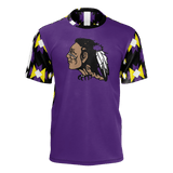 St. Labre Braves Short Sleeve Purple Tee