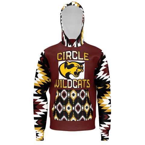 Circle Wildcats Hoodie Adult Customized (Stanley)