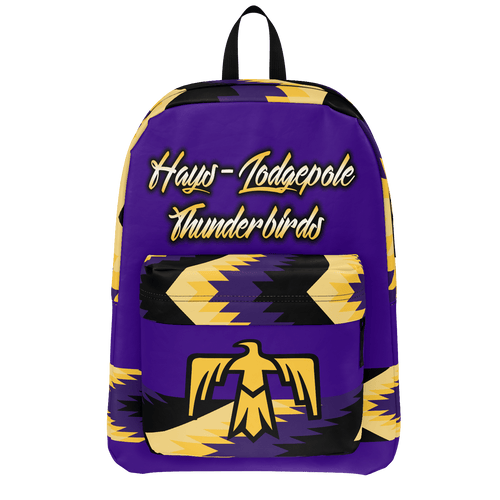 Hays-Lodgepole Thunderbirds Backpack