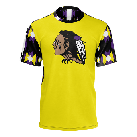 St. Labre Braves Short Sleeve Yellow